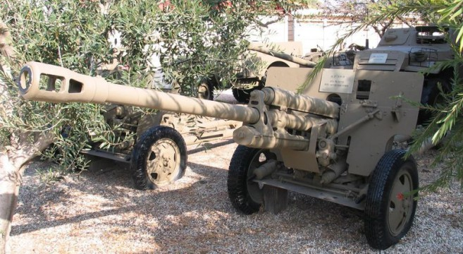 ZIS-3 76.2 mm anti-tank gun | Photo: Wikimedia commons