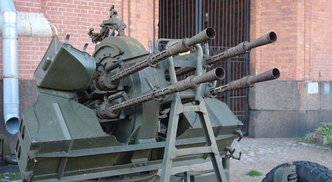 ZPU-4 14.5 mm anti-aircraft machine gun | Photo: Wikimedia commons