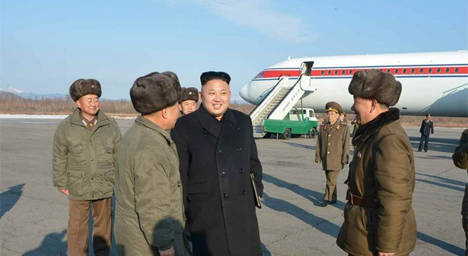 Kim Jong Un flies to Mt. Paekdu on Soviet-era plane banned from Chinese airspace
