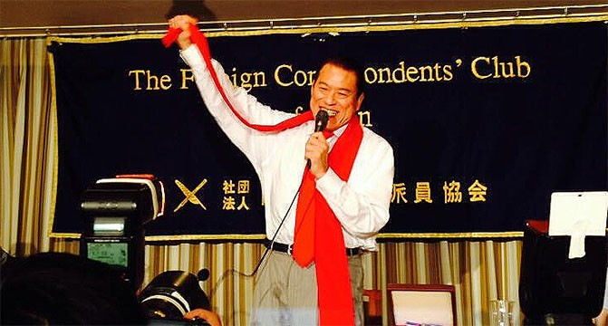 Pro-wrestling event an opportunity to improve DPRK-Japan relations, says Inoki
