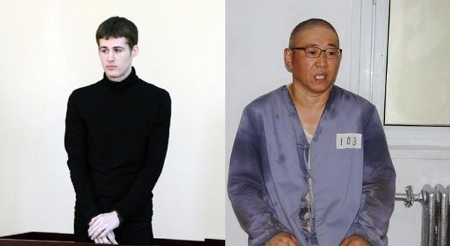 North Korea unexpectedly releases two remaining U.S. prisoners