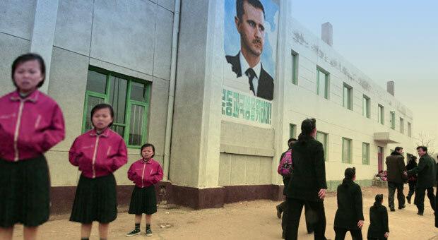 Kim Jong Un Backs Syria's Assad