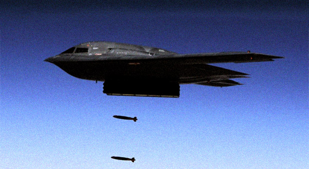 U.S. Flies B-2 Stealth Bombers Over South Korea