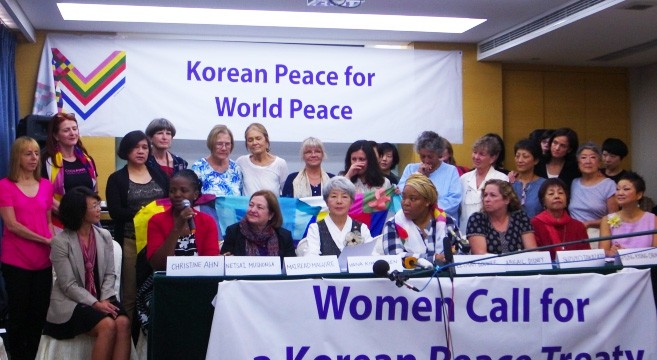 Undeterred by purge rumors, women peace activists leave for Pyongyang