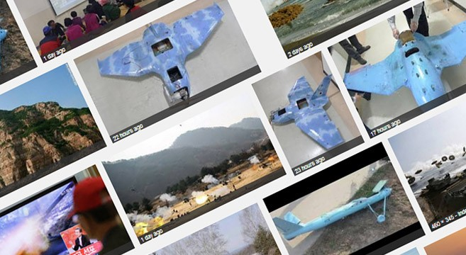 Crashed drones reveal state of North's drone program