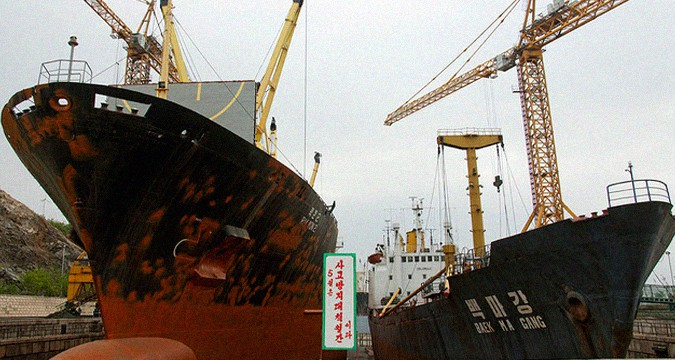 North Koreans ready to pay for arms smuggling ship and crew