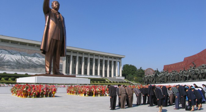Kim Il Sung Statues Will Stay Up After Unification