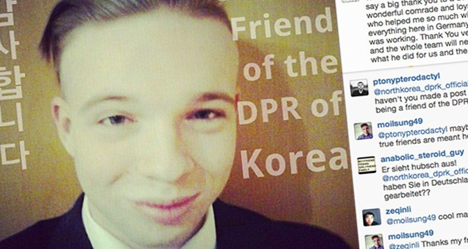 'Official' North Korea Instagram created by German teenager
