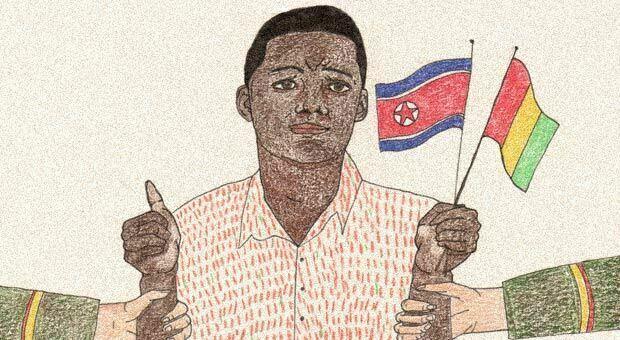 Who takes North Korean citizenship?