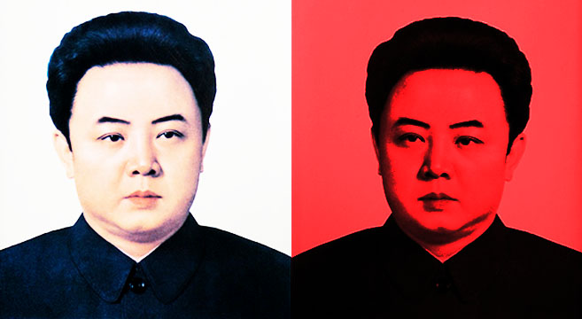 Kim Jong Il played a role in stimulating the markets | Picture: NK News edit