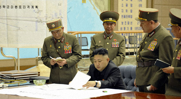 North Korean Photo Reveals 'U.S. Mainland Strike Plan'