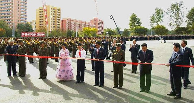 N. Korea opens Munsu Waterpark & Mirim Riding Club to tourists