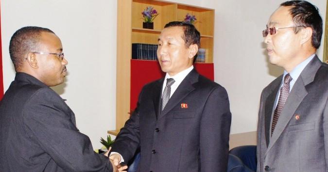 Tanzania won't deny N. Korea is providing military assistance