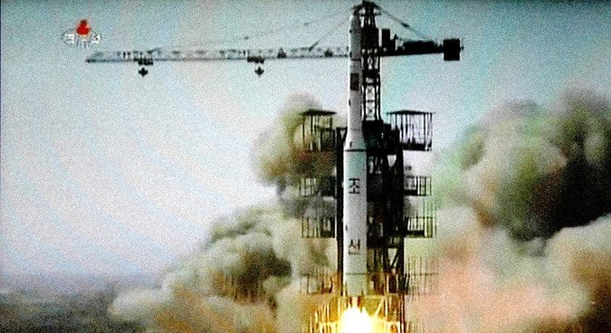 North Korea Launches Rocket, Satellite Successfully 'in Orbit'