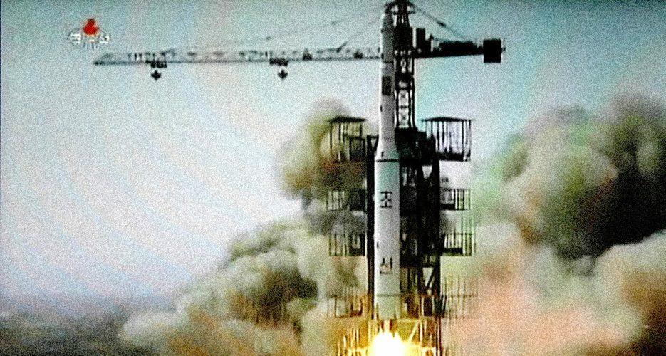 North Korea Launches Rocket, Satellite Successfully 'in Orbit'