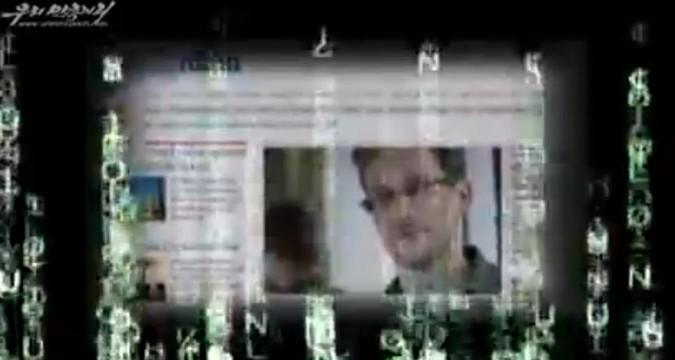 North Korea produces video on Edward Snowden case