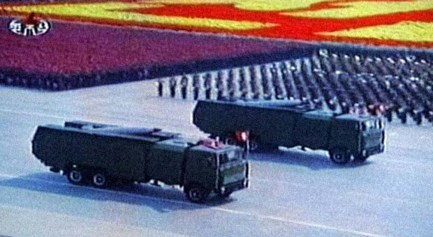 North Korea Launches Short-Range Missiles From East Coast