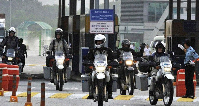Riding across the Koreas by motorbike: a historic journey