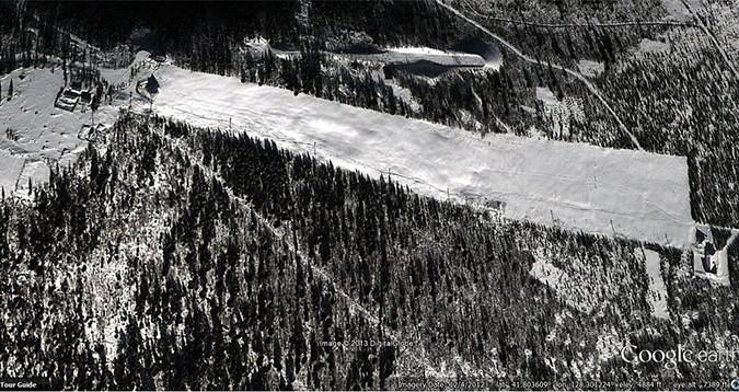 Located: North Korea's Masik Pass Ski Resort