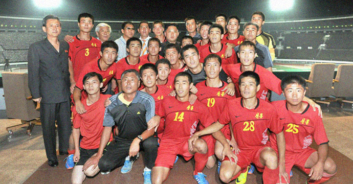 In rare move, KCNA blasts cheating soccer team