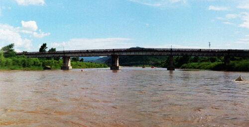 China builds cross-border bridge to N.Korea