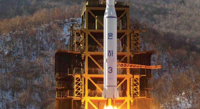 North Korea conducts rocket launch