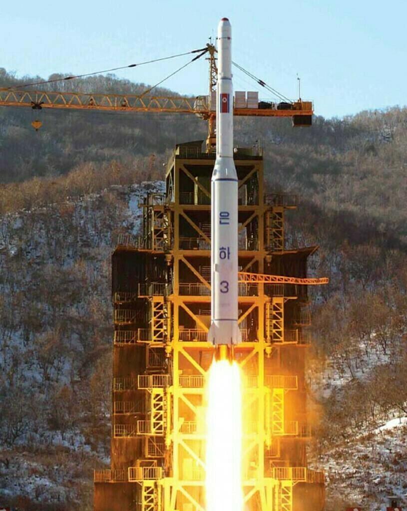North Korea conducts rocket launch