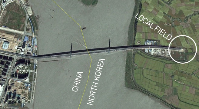Satellite imagery reveals China's $350m suspension bridge to nowhere
