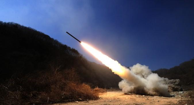 North Korea fires on S. Korean loudspeakers