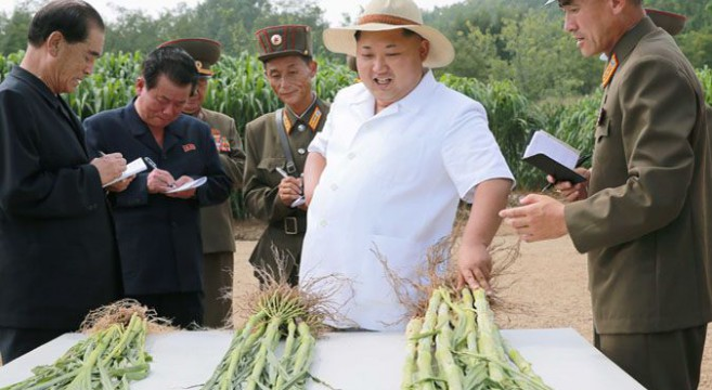 Kim Jong Un and O Su Yong