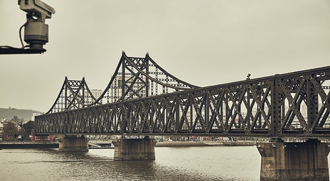 Important N. Korea-China bridge temporarily closed, notice reveals