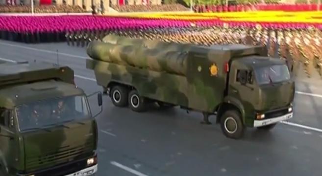 KN-06 SAM in parade | Image: KCTV