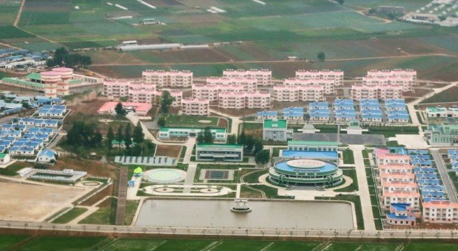 North Korea releases HD video of completed farm project