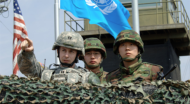 U.S. and ROK forces near the DMZ | Picture: Wikimedia Commons