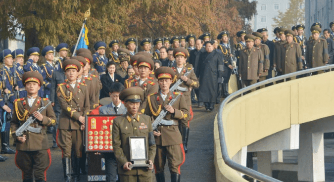 N. Korean Marshal Ri Ul Sol gets funeral in Pyongyang