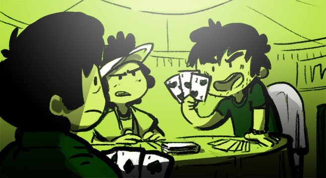 Gambling north korea
