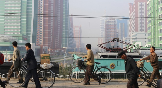 For Chinese students learning North Korean, Pyongyang is far away