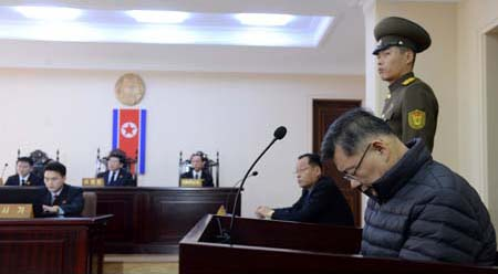 N. Korea warns Canada not to interfere with pastor's sentence