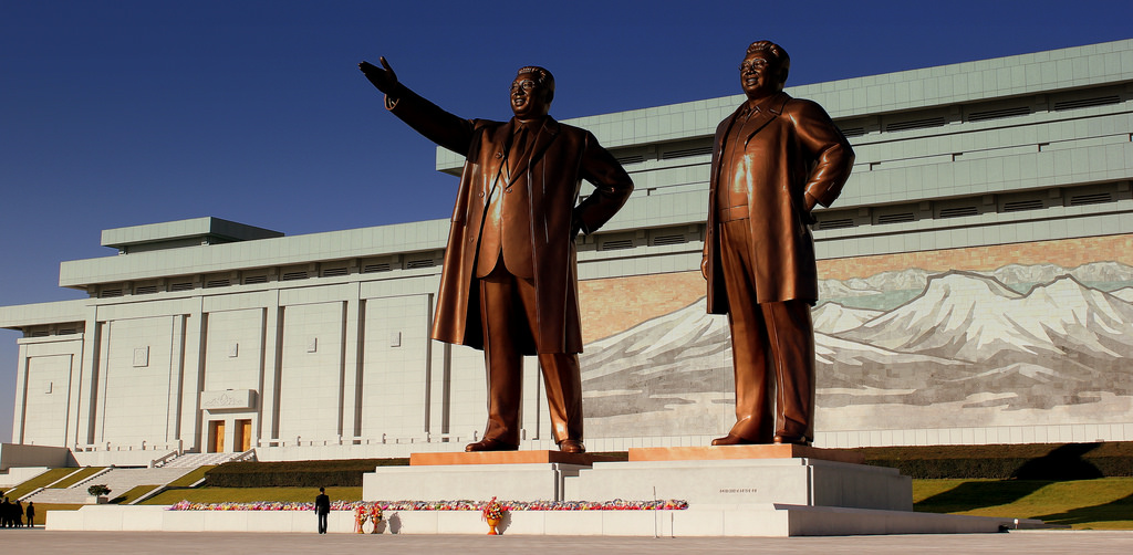 The image of stalin in north korea nk news north korea news kim il sung statue photo thecheapjerseys Choice Image