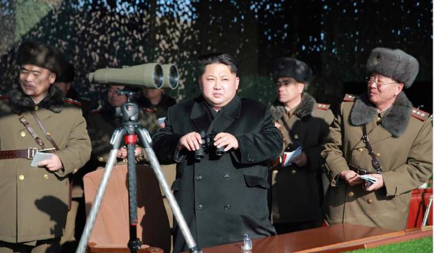 North Korea blasts way into U.S. presidential security debate