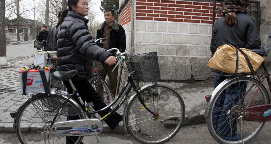 North Korea's bike path