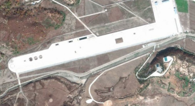 Satellite imagery shows test range built for new N.Korean armor