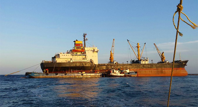 North Korean ship owner slams UN, U.S over scrapping