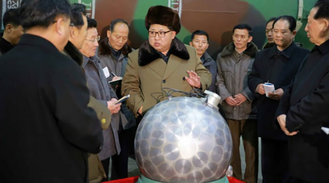 N.Korea publishes pictures of 'miniaturized' nuclear device