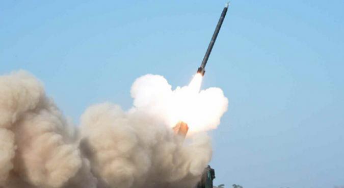 North Korea reveals pictures of multiple rocket launch test