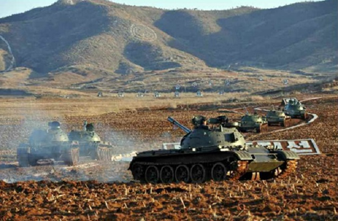 N.Korea conducts Russian format tank competition