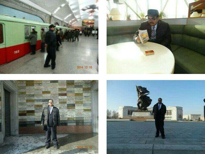 Martinez tours Pyongyang | Pictures: A. P. Martinez