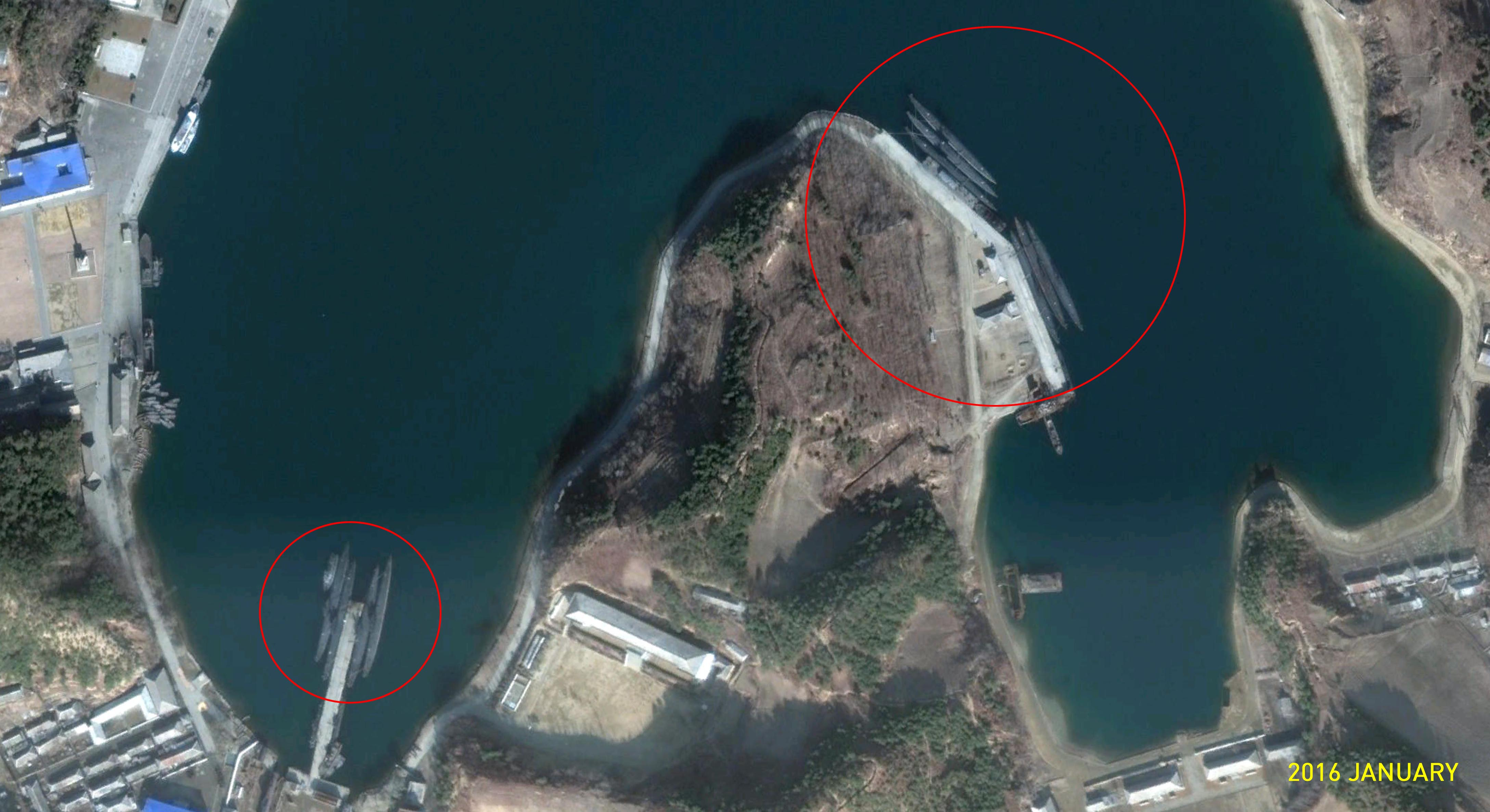 NKorean Submarine Attempts To Testfire Ballistic Missile MBN - Us submarine bases map submar