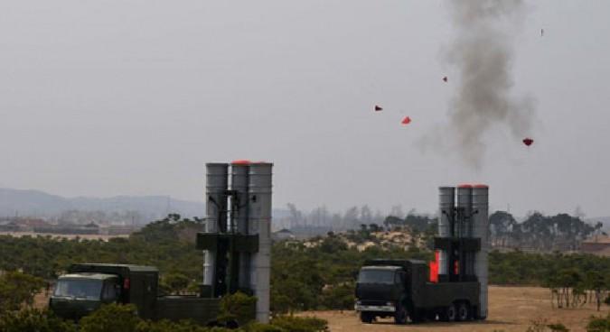Kim Jong Un attends advanced strategic SAM test