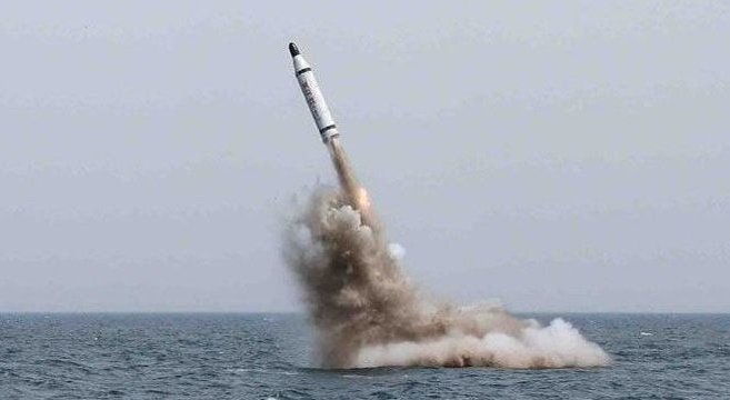 North Korea fires sub-launched ballistic missile